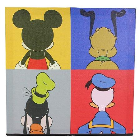 Quadro Canvas Disney - Mickey e Amigos