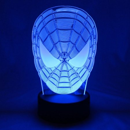 Luminária LED Marvel - Homem Aranha