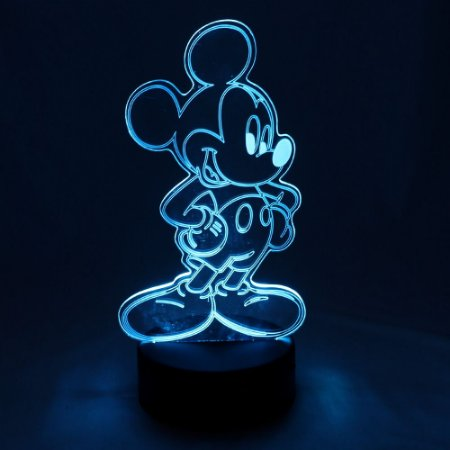 Luminária LED Disney - Mickey Mouse