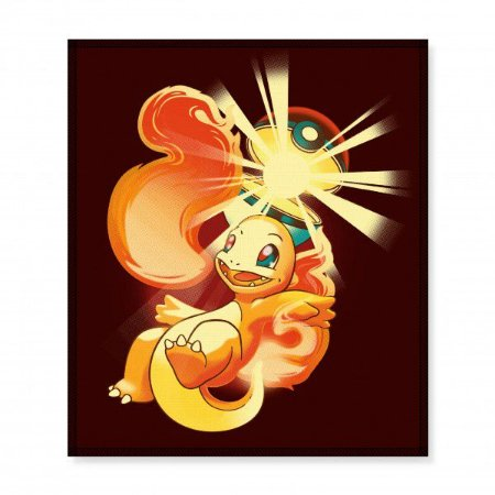 Descanso de Panela Pokemon - Charmander