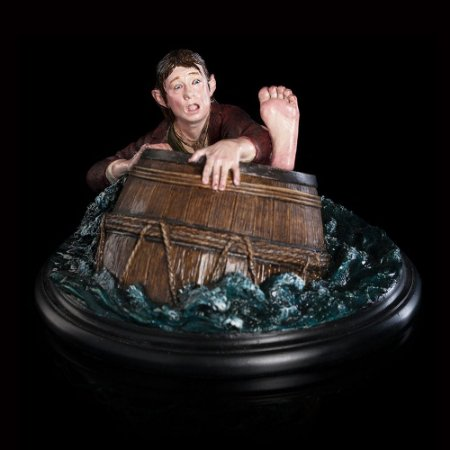 The Hobbit Bilbo Baggins Barrel Rider 1/6 Weta Workshop