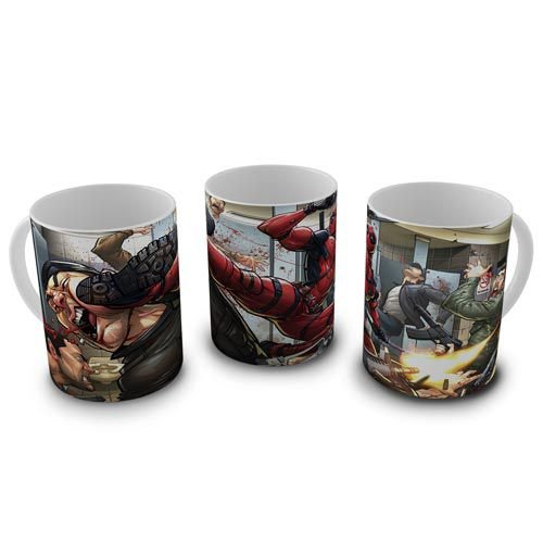 Caneca Deadpool - Fight