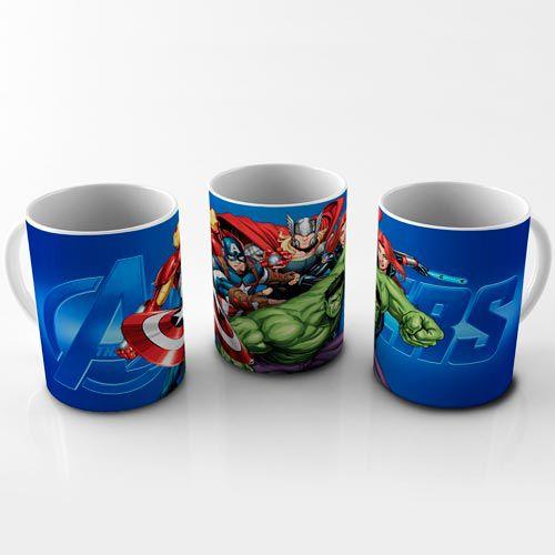 Caneca Vingadores - Heroes