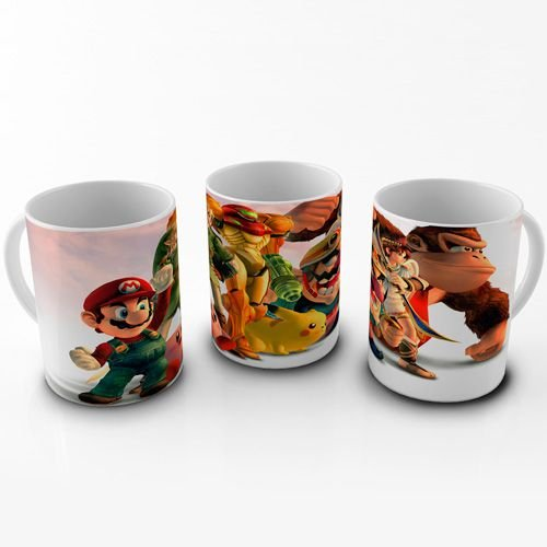Caneca Super Smash Bros - Personagens