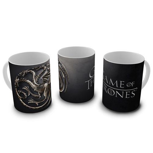 Caneca Game of Thrones - Targaryen Brasão