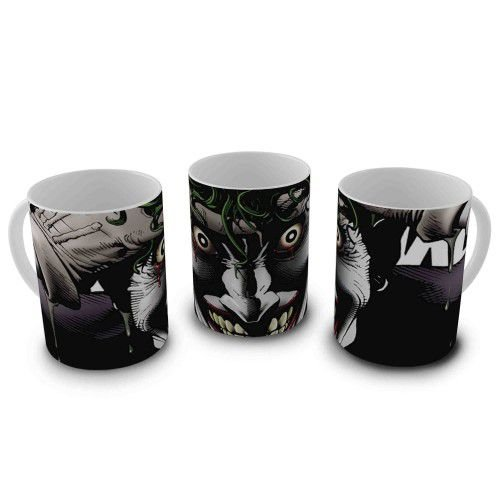 Caneca Batman - Coringa Piada Mortal Close