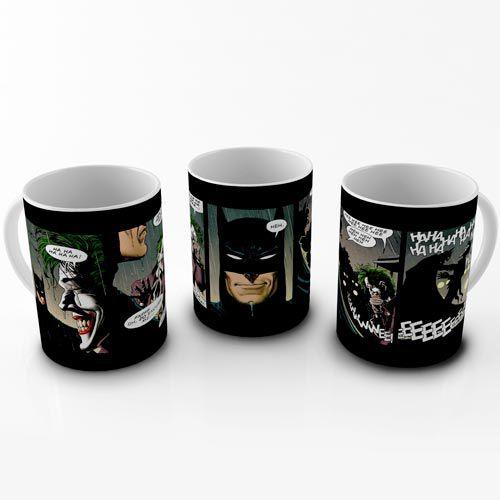 Caneca Batman e Coringa