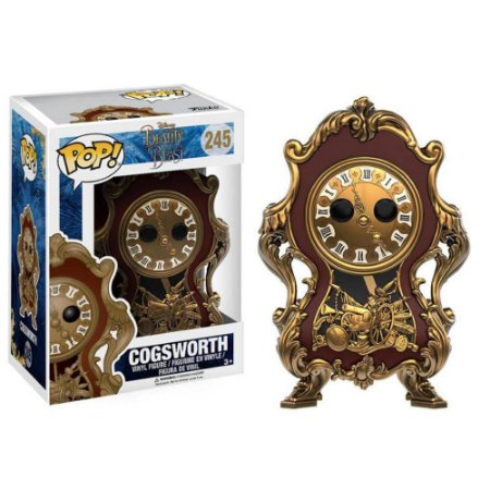Funko Pop Disney Bela e a Fera - Cogsworth(Horloge)