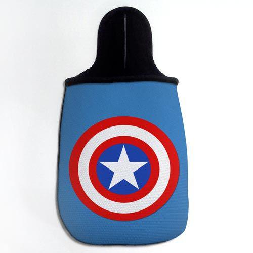 Lixinho de Carro Capitão América - Simbolo