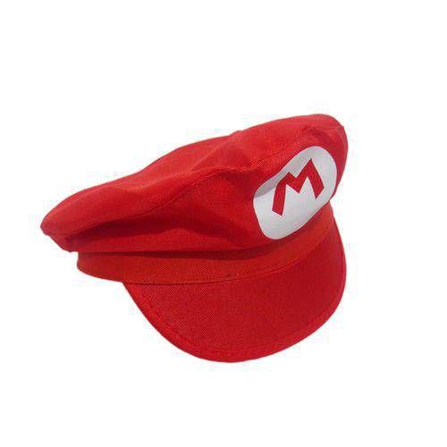 Boina do Mario Bros