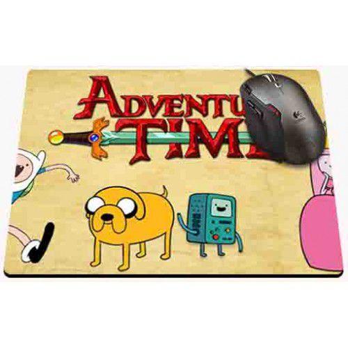 Mousepad Hora da Aventura - Turma