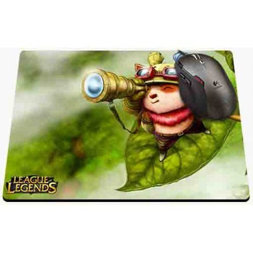 Mousepad League of Legends - Teemo Folha