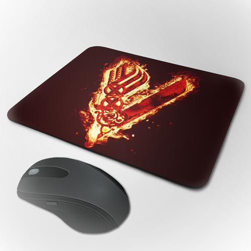 Mousepad Vikings - Simbolo Fire