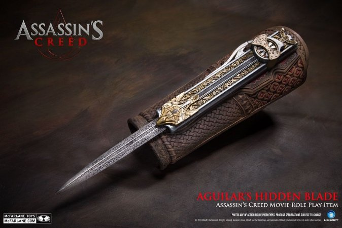 Assassin's Creed Aguilar's Hidden Blade - McFarlane Toys Edition