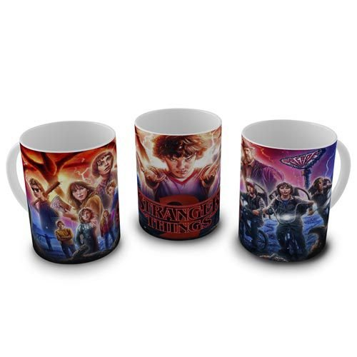 Caneca 300ml Stranger Things 2