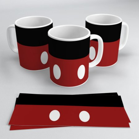 Caneca 300ml Disney - Mickey Mouse