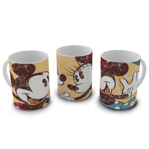 Caneca 300ml Disney - Mickey e Minnie