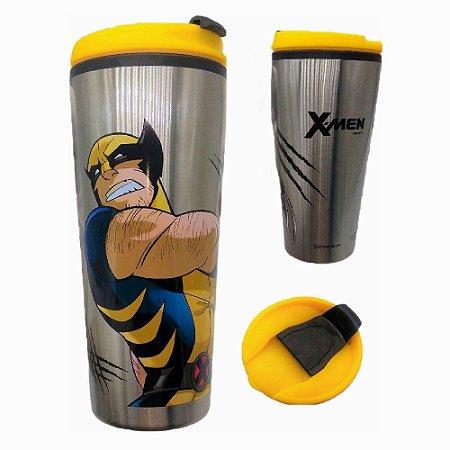 Copo para Viagem 450ml X-Men - Wolverine