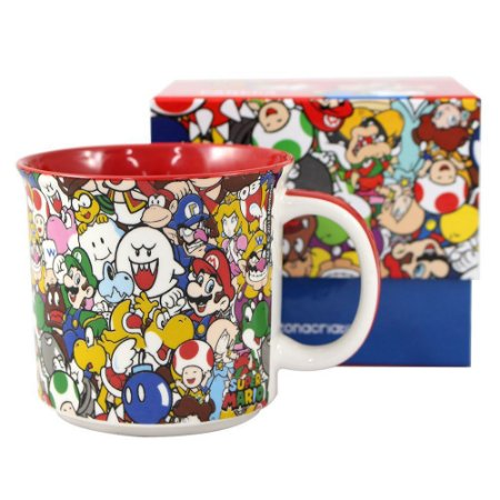 Caneca Tom 350ml Super Mario - Personagens
