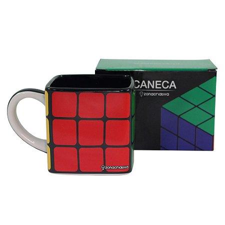 Caneca 300ml Cubo Mágico