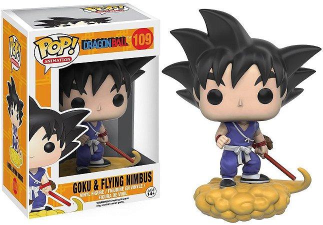Funko Pop Dragon Ball - Goku e Nuvem Voadora