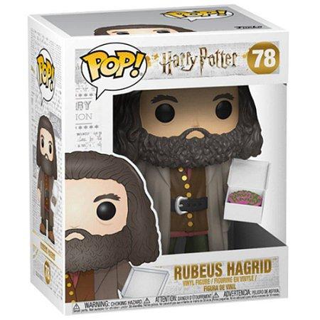 Funko Pop Harry Potter - Rubeus Hagrid com Bolo de Aniversário