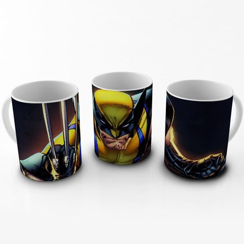 Caneca 300ml Wolverine