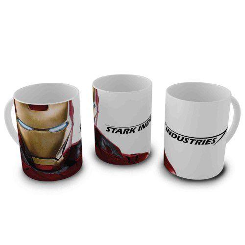 Caneca 300ml Homem de Ferro - Stark Industries