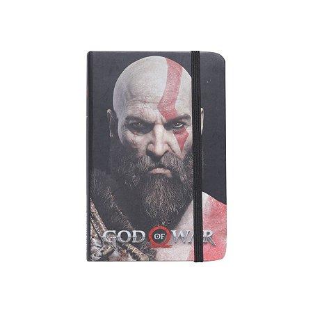 Caderno de Anotações God of War - Kratos Face