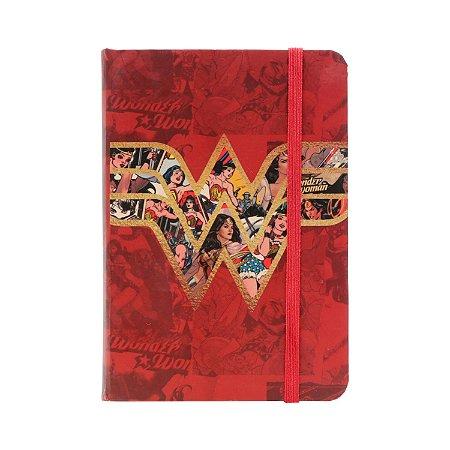 Caderno de Anotações Mulher Maravilha - Símbolo Comics