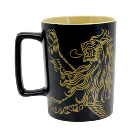 Caneca com Alça Quadrada 500ml Game of Thrones - Lannister