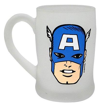 Caneca Fosca 400ml Marvel - Capitão América
