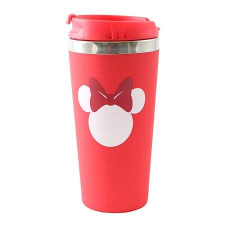 Copo para Viagem Emborrachado 450ml Disney - Minnie