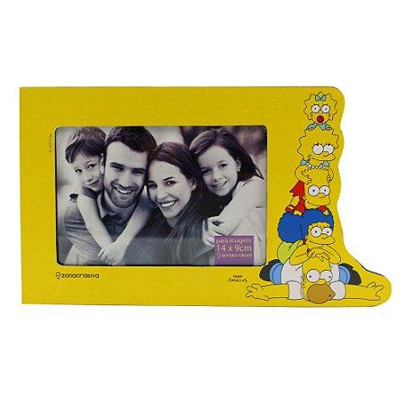 Porta Retrato de MDA 10x15 Simpsons - Família