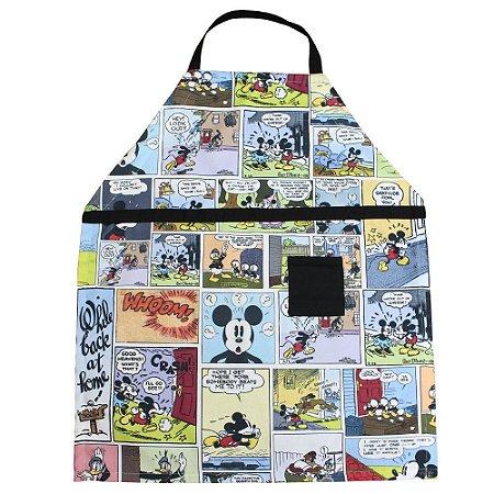 Avental Canvas Mickey- HQ Color