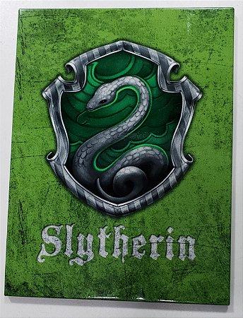 Placa de Metal 26x19 Harry Potter - Sonserina