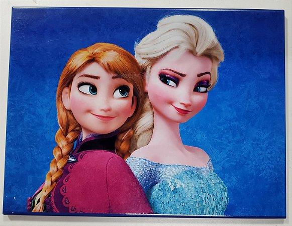 Placa de Metal 26x19 Frozen