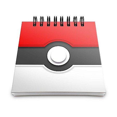 Bloco de Anotações Pokémon - Pokebola