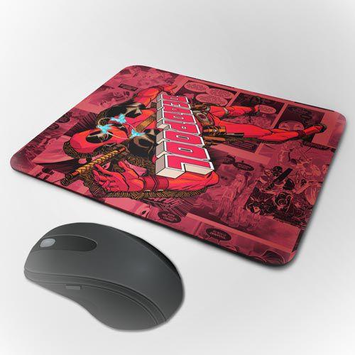 Mousepad Deadpool - Nocaute