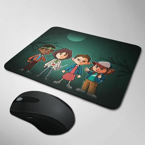 Mousepad Stranger Things - Cartoon
