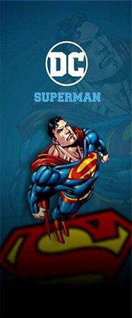 Quadro de Metal 26x11 - Super Homem