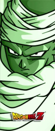 Quadro de Metal 26x11 Dragon Ball Z - Piccolo