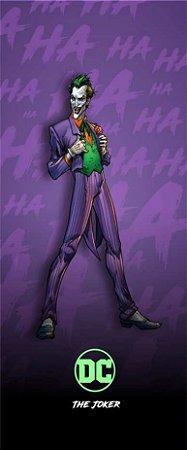 Quadro de Metal 26x11 Batman - Coringa