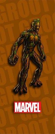 Quadro de Metal 26x11 Guardiões da Galáxia - Groot