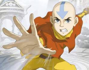 Quadro de Metal 26x19 Avatar - Aang