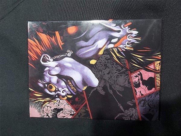Quadro de Metal 26x19 Death Note - Shinigami