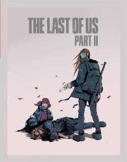 Quadro de Metal 26x19 The Last Of Us Part II