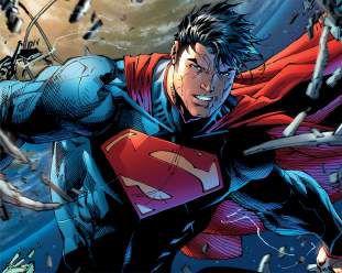 Quadro de Metal 26x19 Superman - Espaço