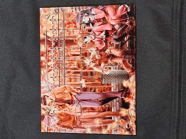 Quadro de Metal 26x19 Sakura Card Captors - Turma