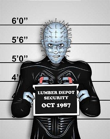 Quadro de Metal 26x19 Lumber Depot Security OCT 1987